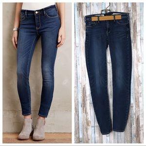 Anthropologie 25 Pilcro Serif Skinny Legging Jeans